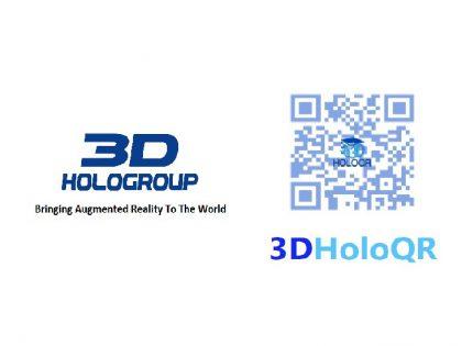 3D HoloGroup announces the next version of  3D HoloQR Multipurpose QR (Quick Response) Code Application