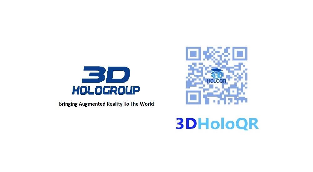 3D HoloGroup 3DHoloQR logo pr