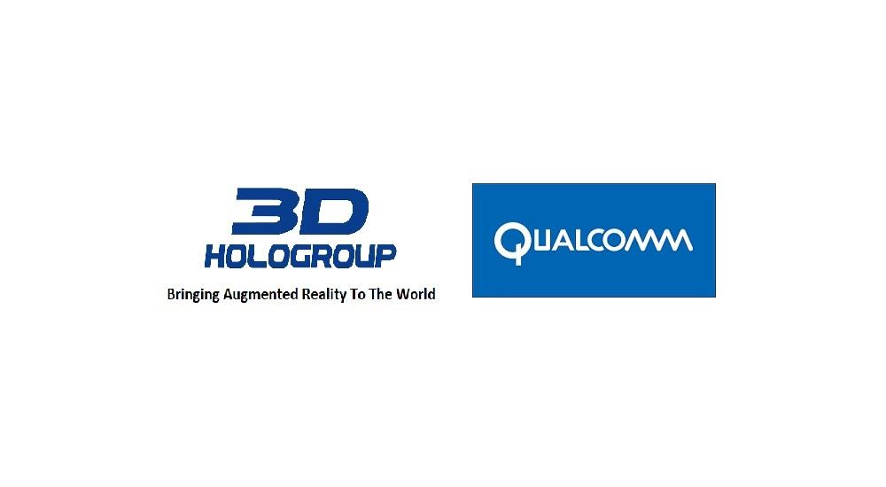 3D HoloGroup Qualcomm Logo pr