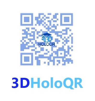 3DHoloQR text